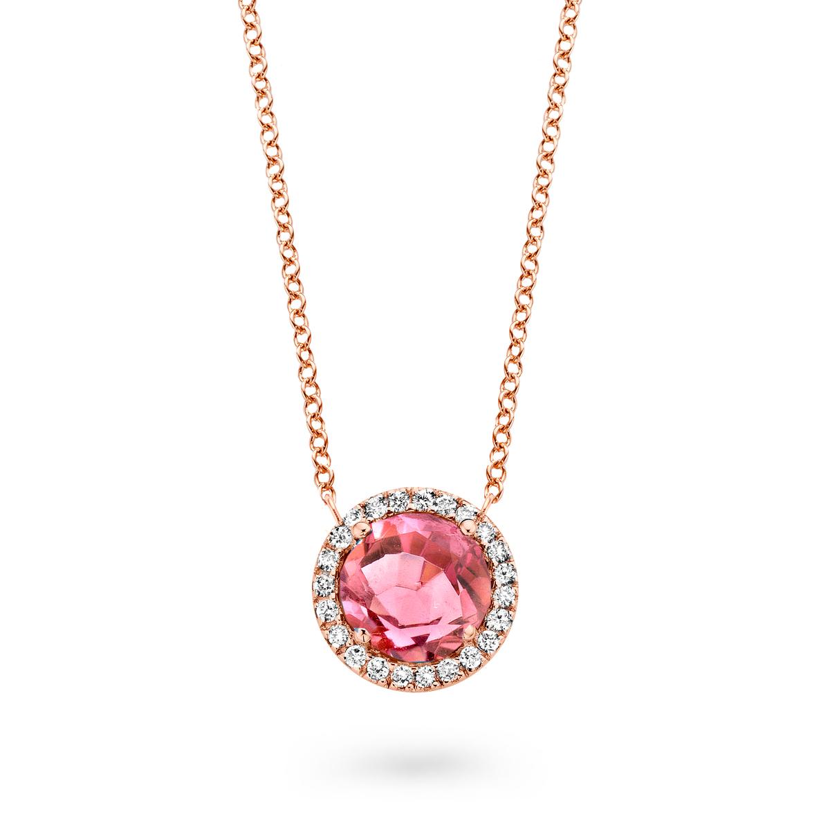 etna Halskette in Rosa gold