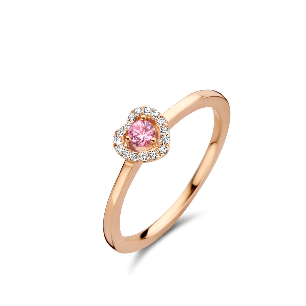 salina Bague en rose or