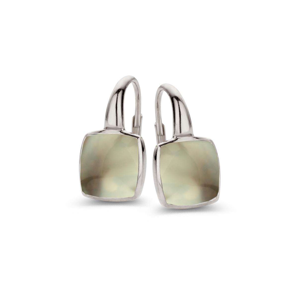 pantelleria earrings in white gold