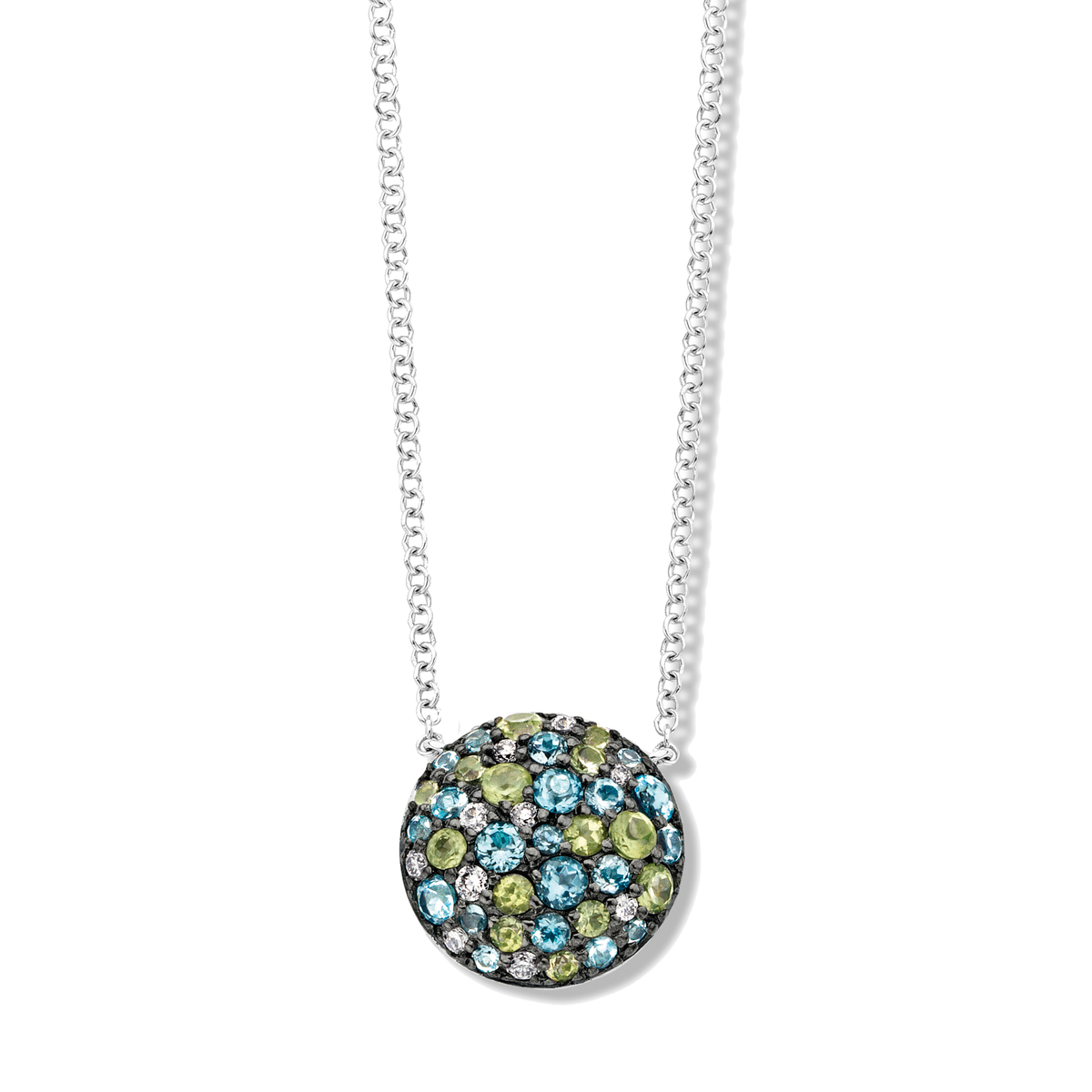 panarea necklace in white gold