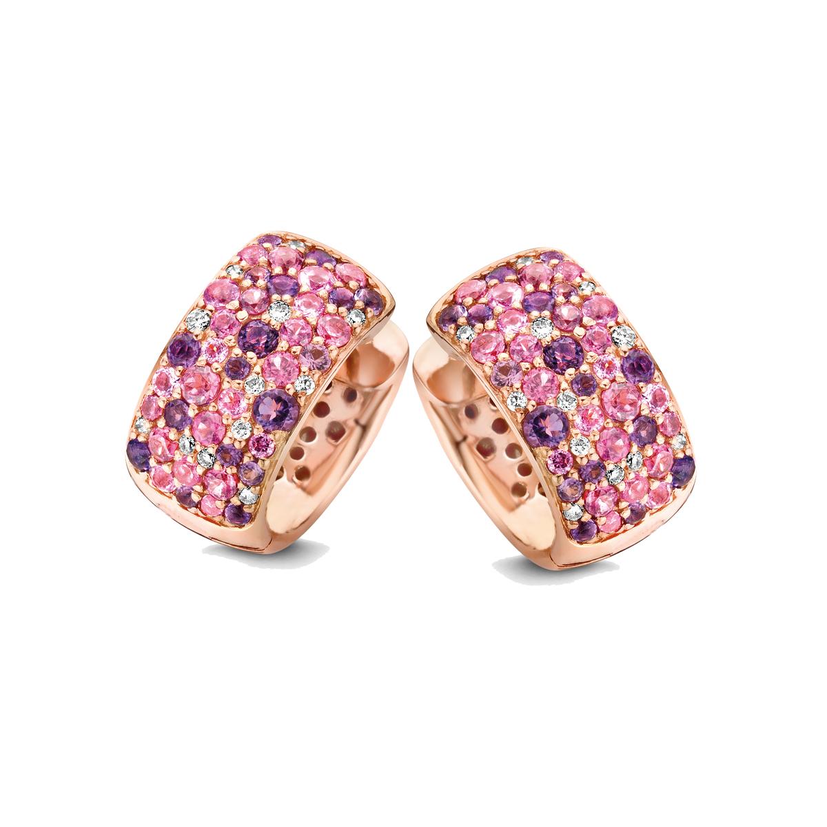 panarea earrings in rose gold