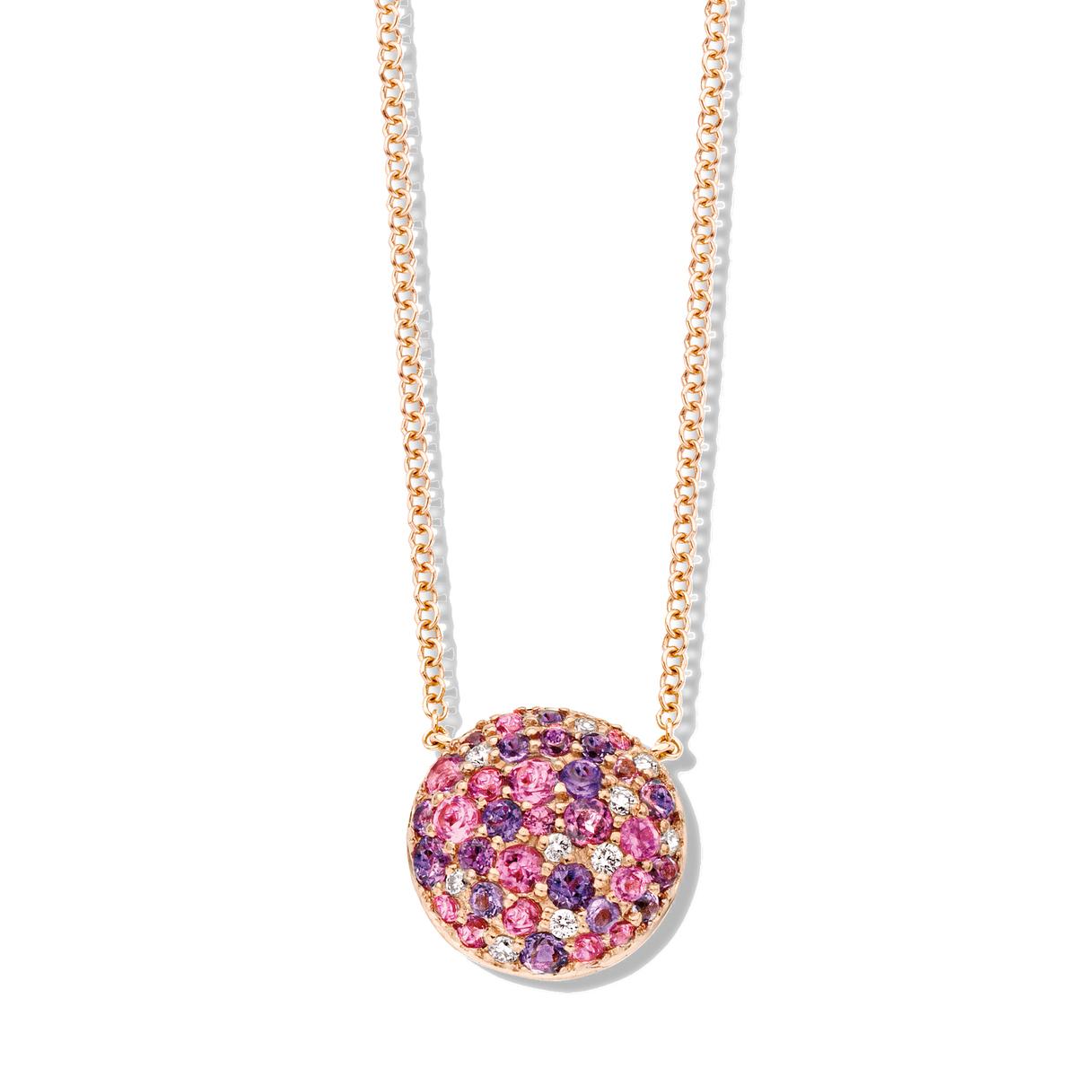 panarea necklace in rose gold