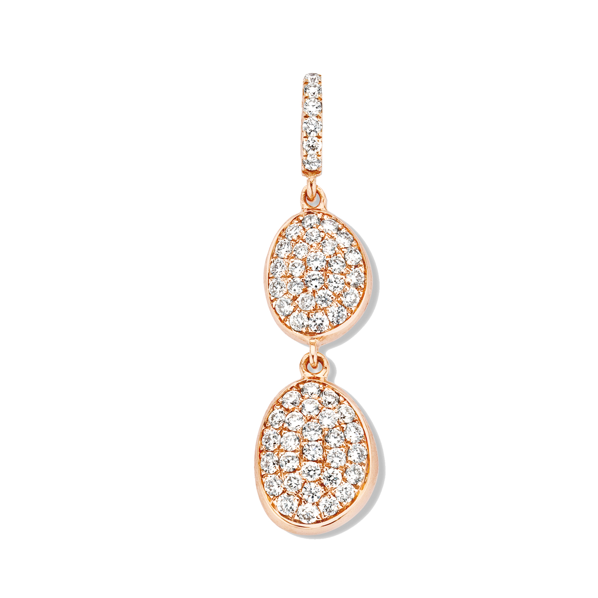 vulsini pendant in rose gold
