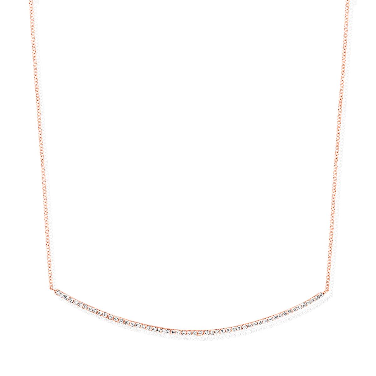 ischia basics necklace in rose gold