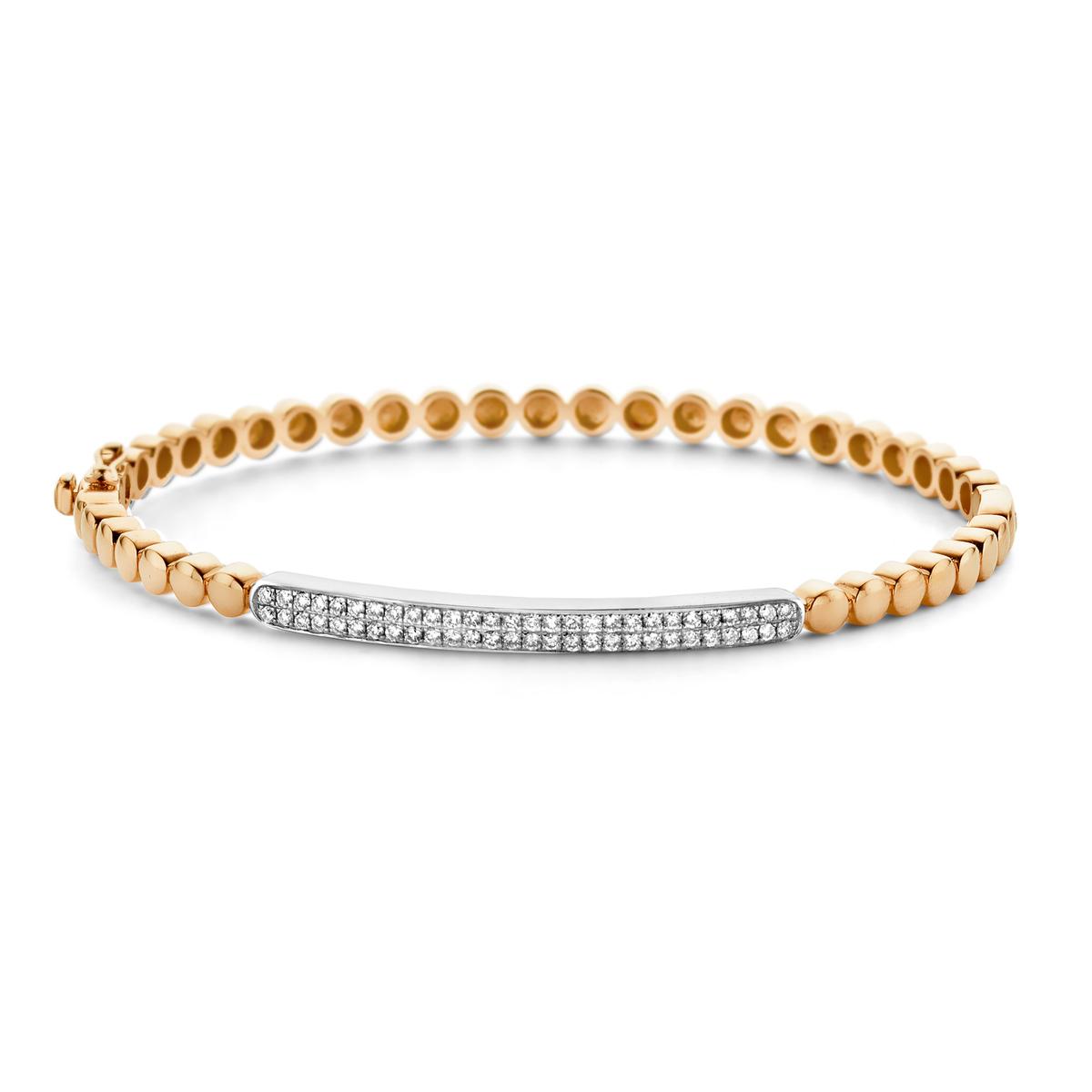 ischia basics bracelet in yellow gold