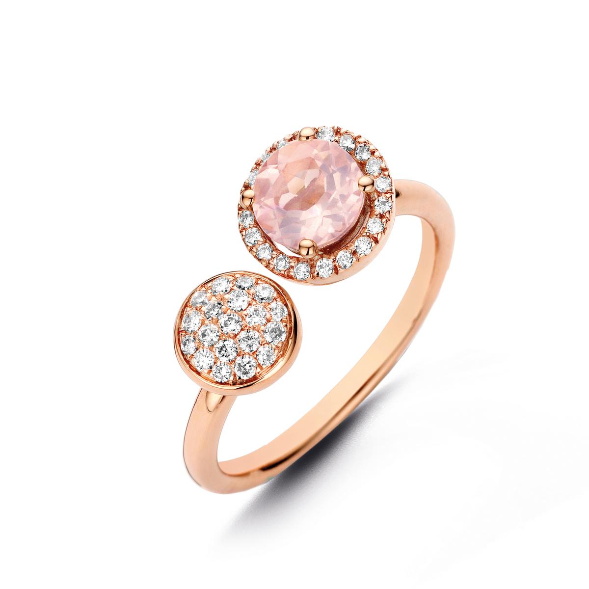 etna ring in rose gold