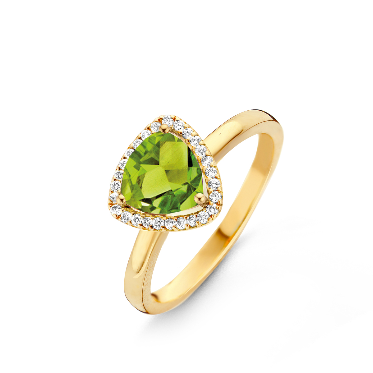 etna ring in yellow gold