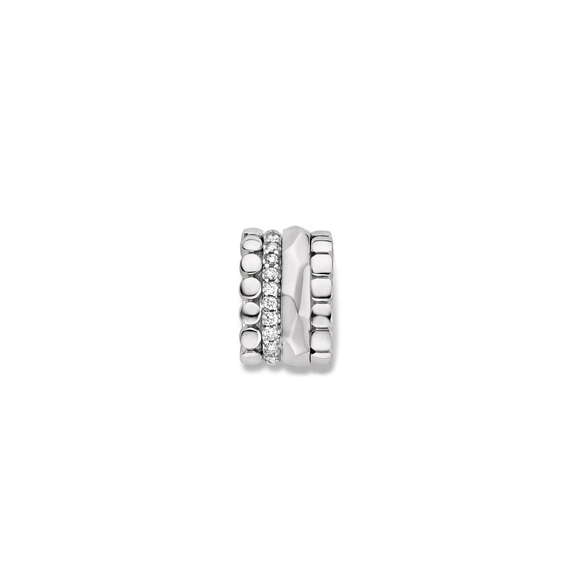 ischia pendant in white gold
