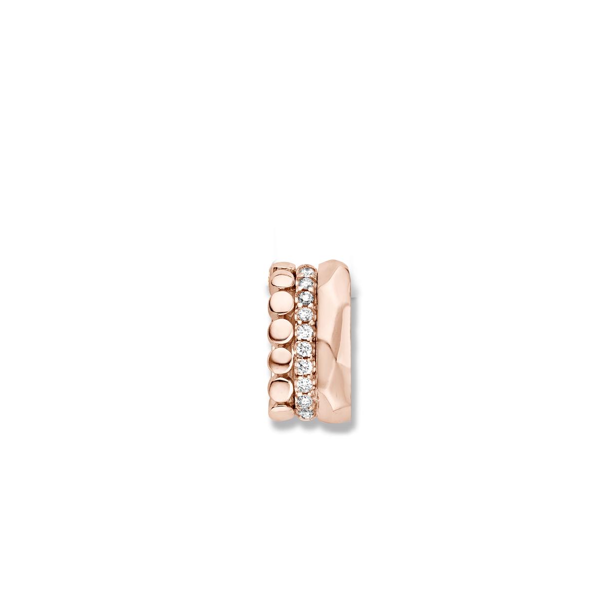 ischia pendant in rose gold