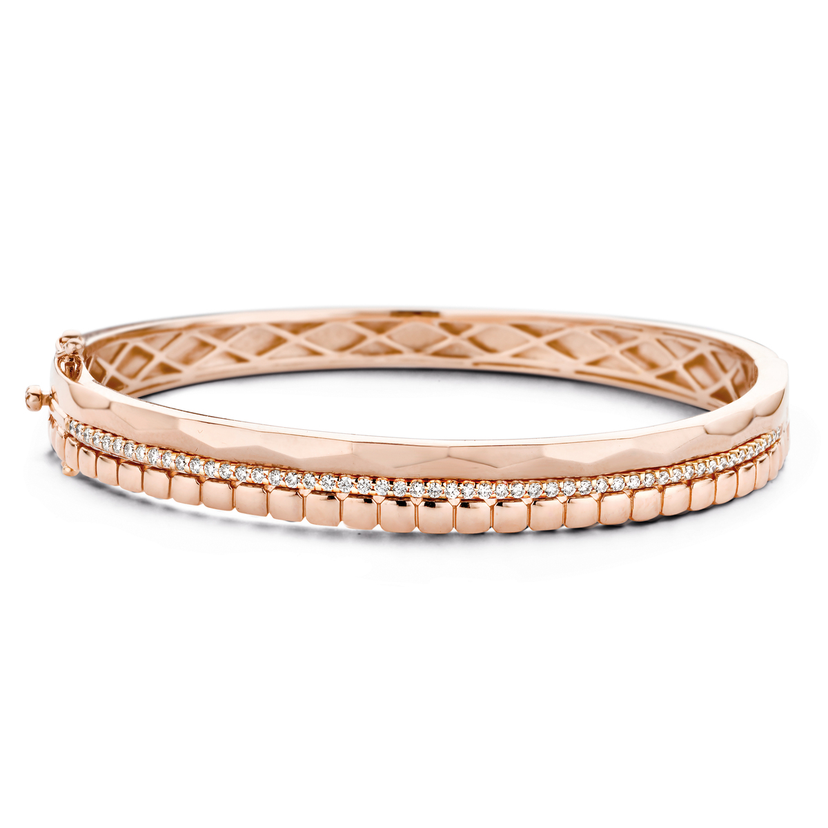 ischia bracelet in rose gold