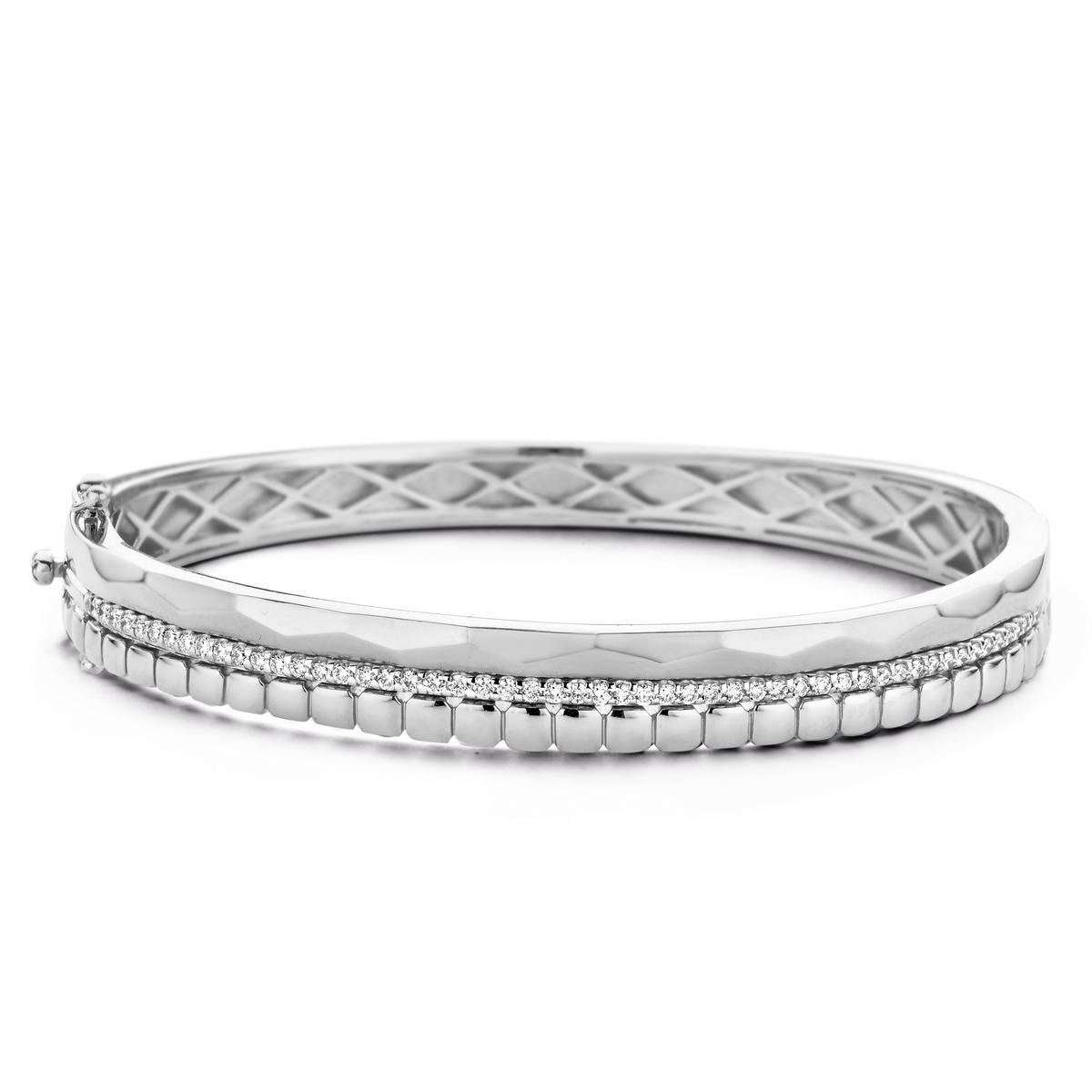 ischia bracelet in white gold