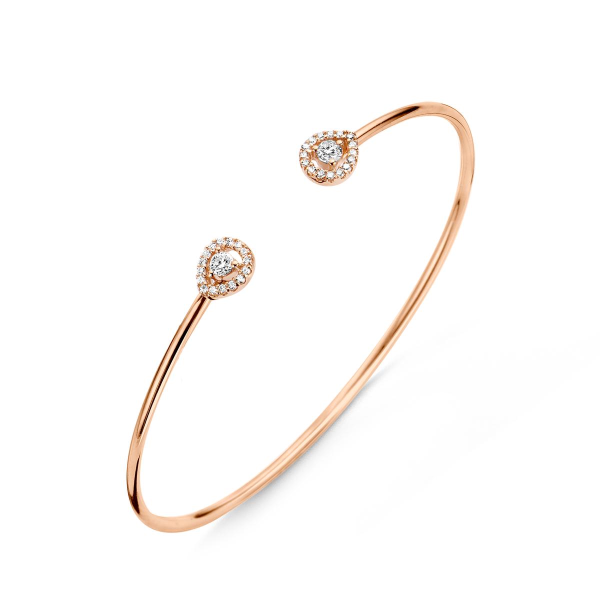 salina bracelet in rose gold