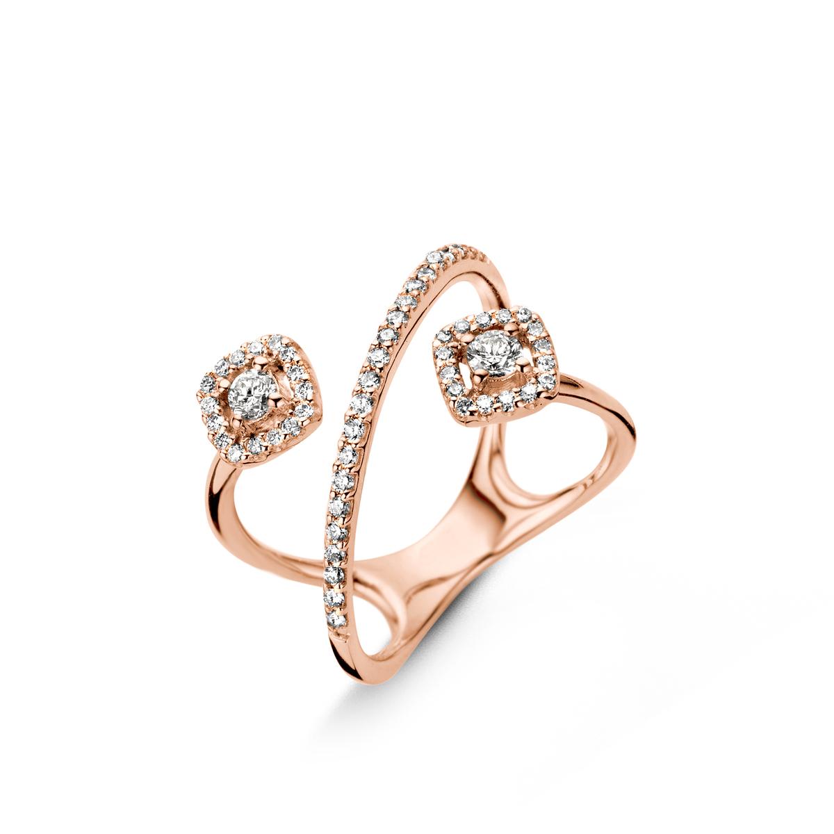 salina ring in Rosa gold