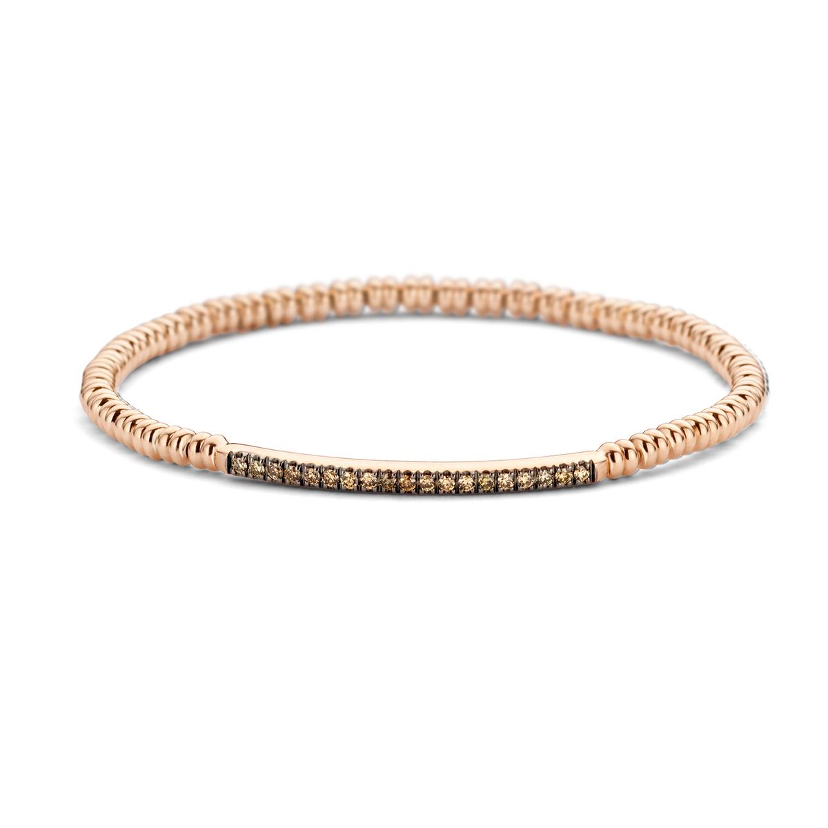 ischia basics bracelet in rose gold