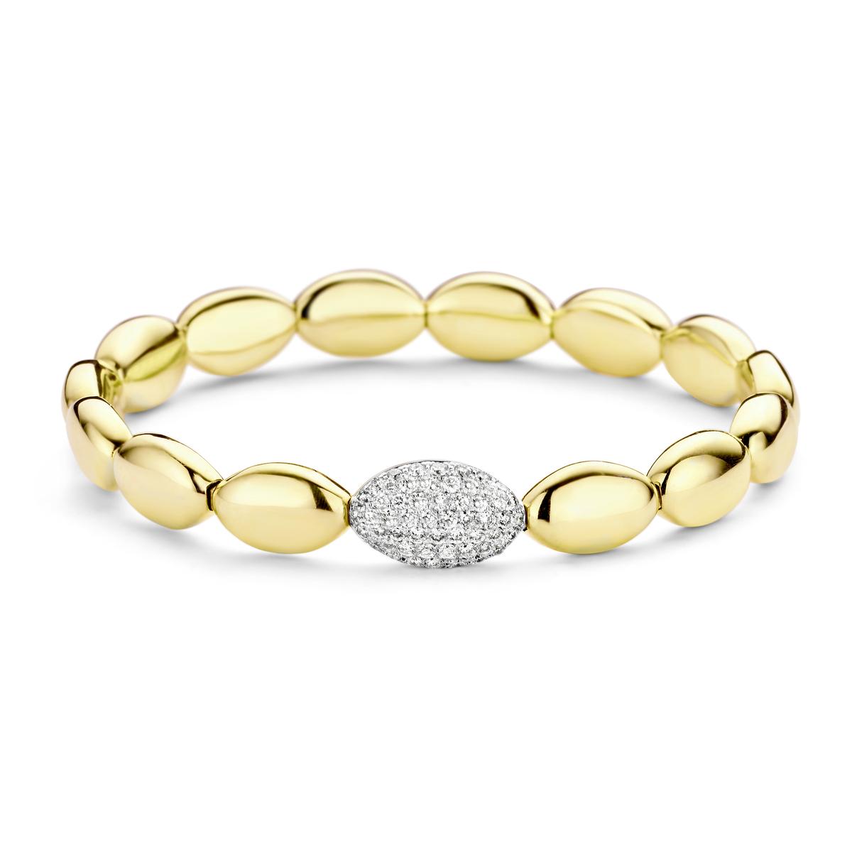 vulsini bracelet in yellow gold