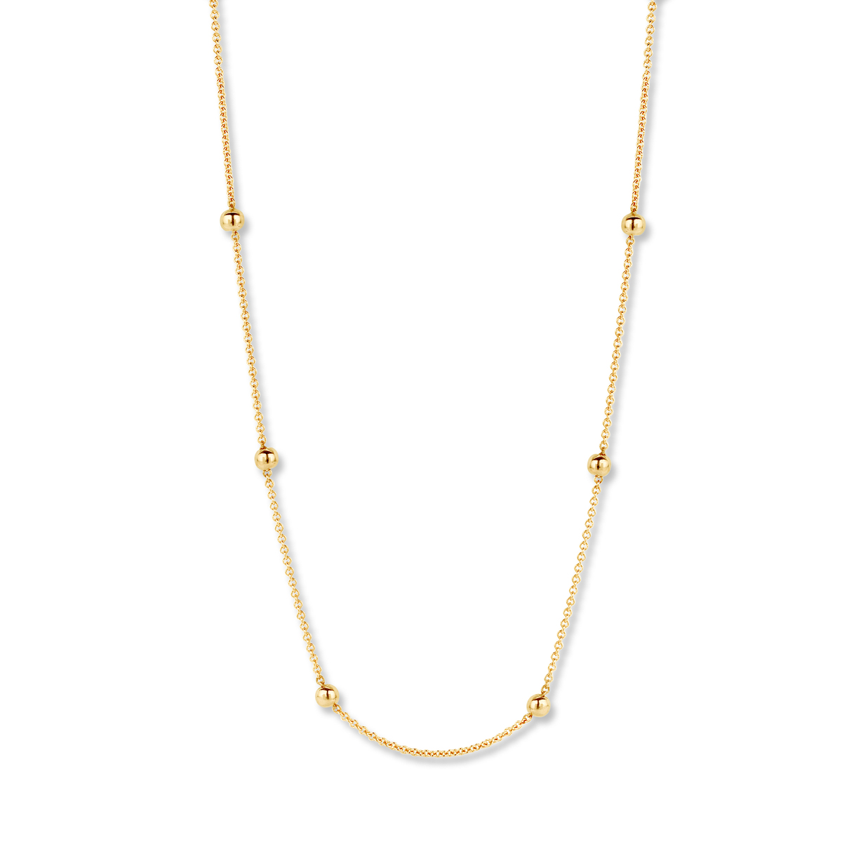 pantelleria necklace in yellow gold