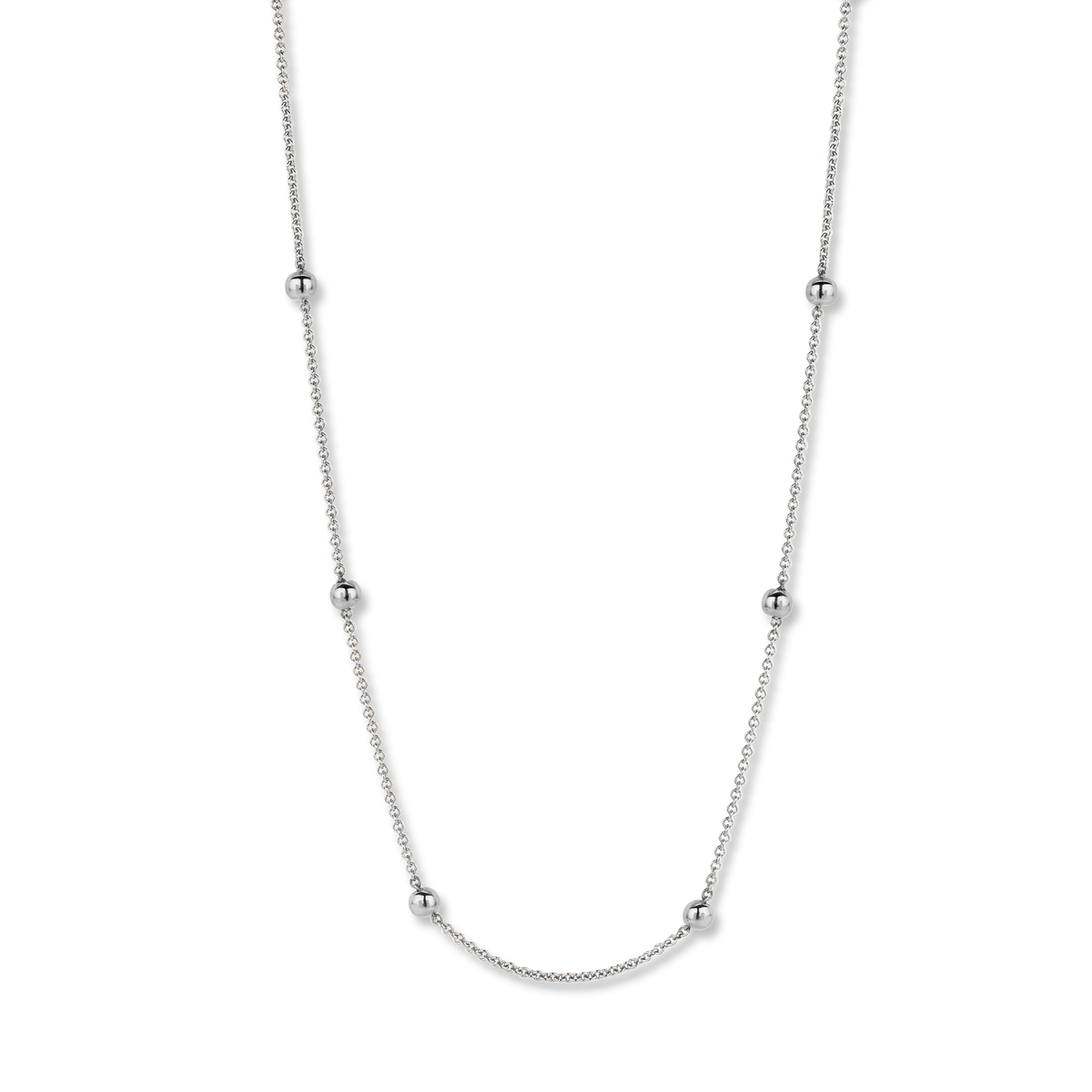 pantelleria necklace in white gold