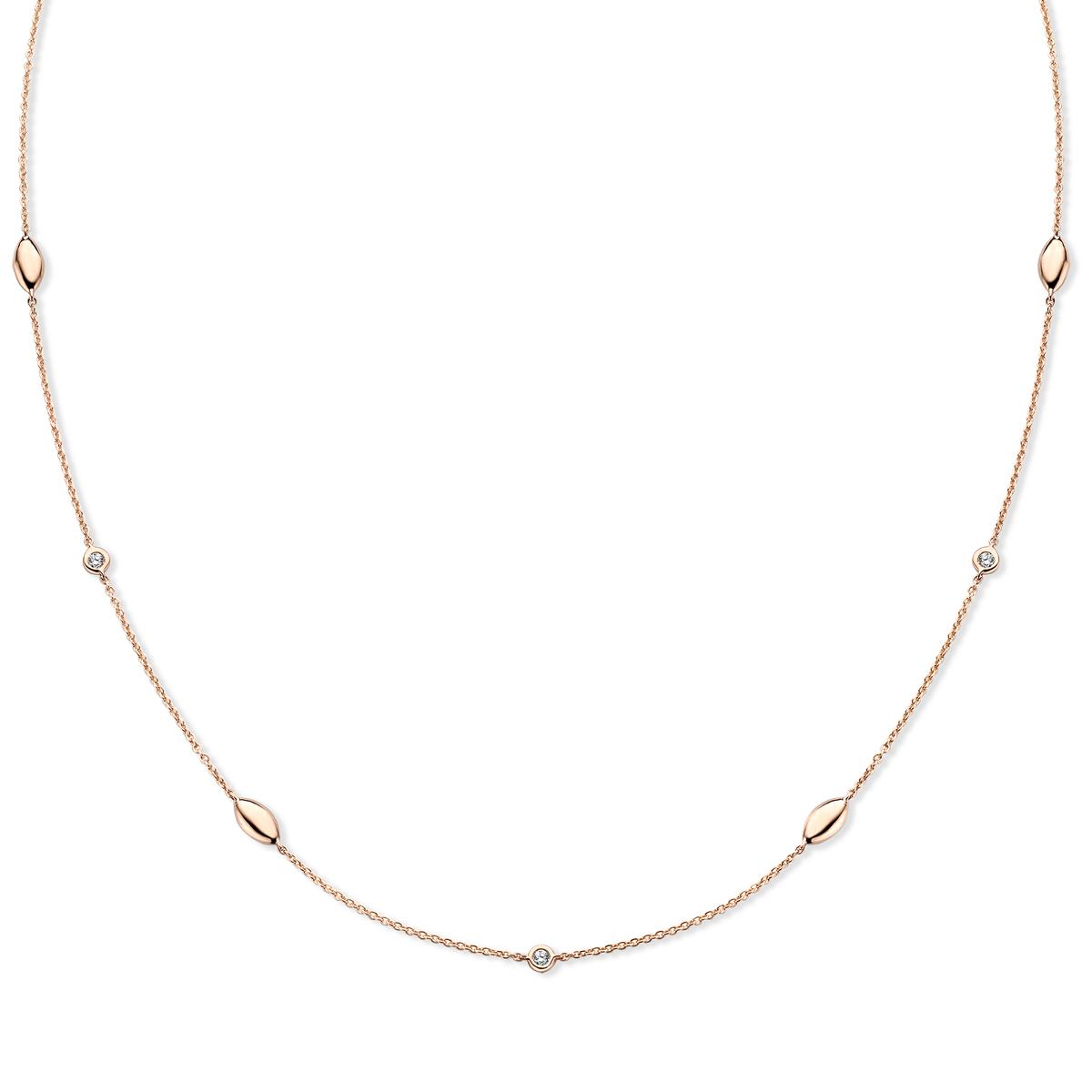 vulsini Halskette in Rosa gold