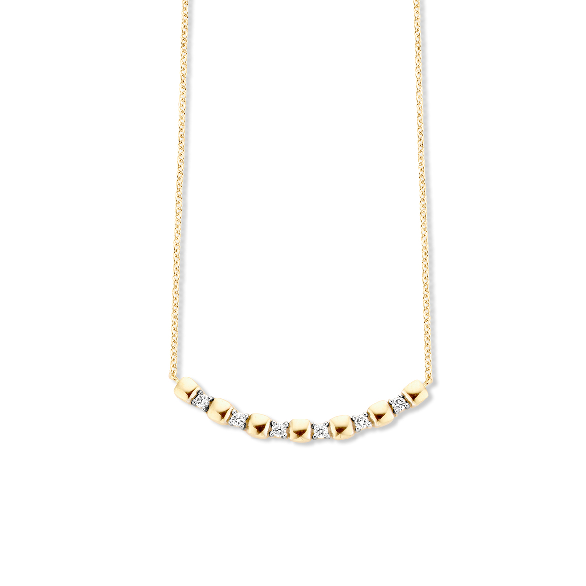 ischia basics necklace in yellow gold