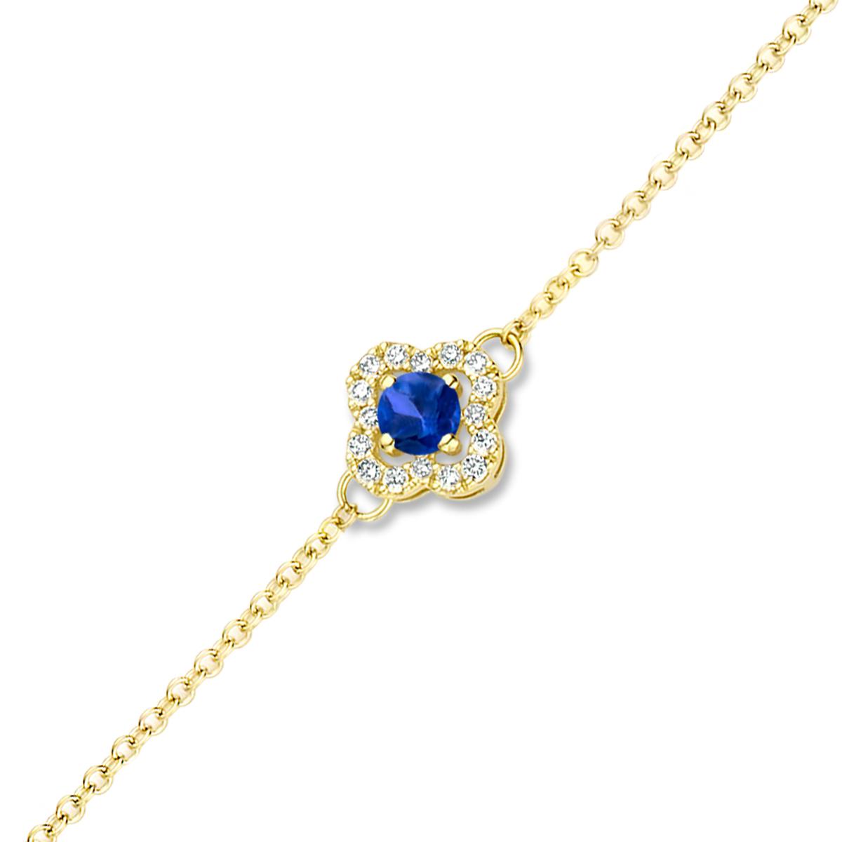 salina bracelet in yellow gold
