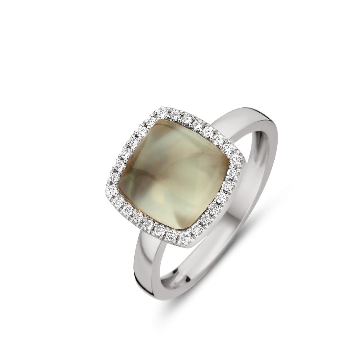 pantelleria ring in white gold
