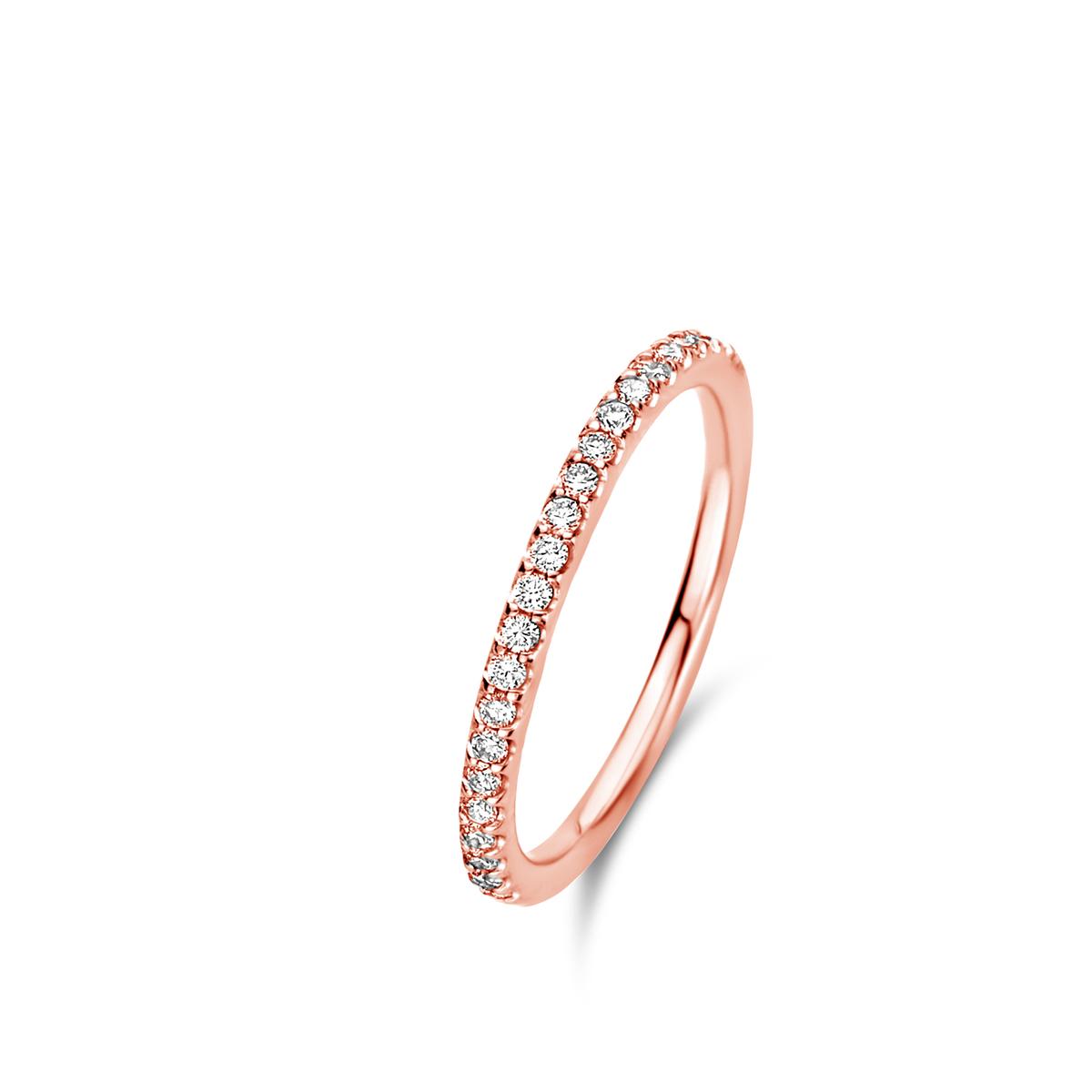 ischia basics ring in rose gold