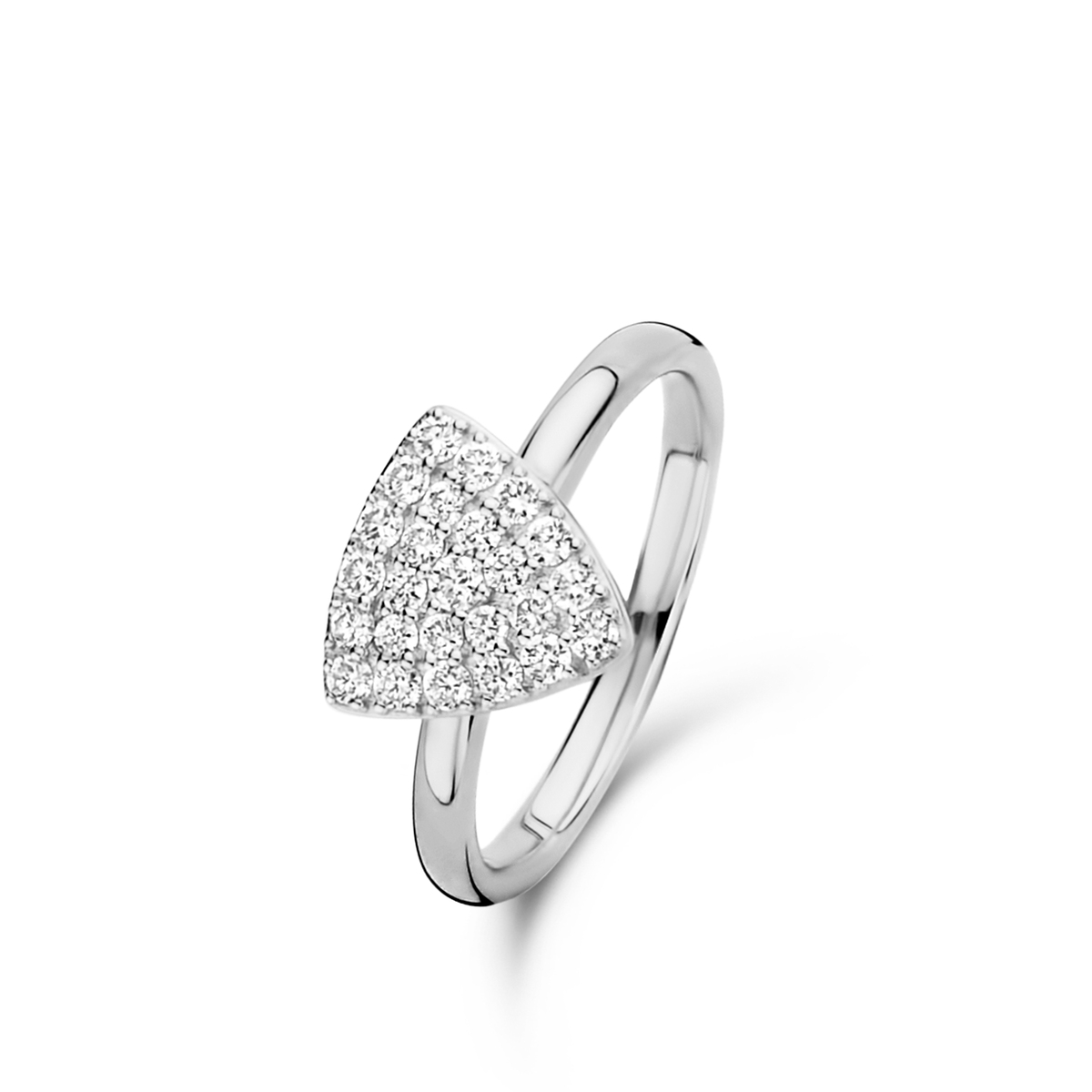 eolo ring in white gold