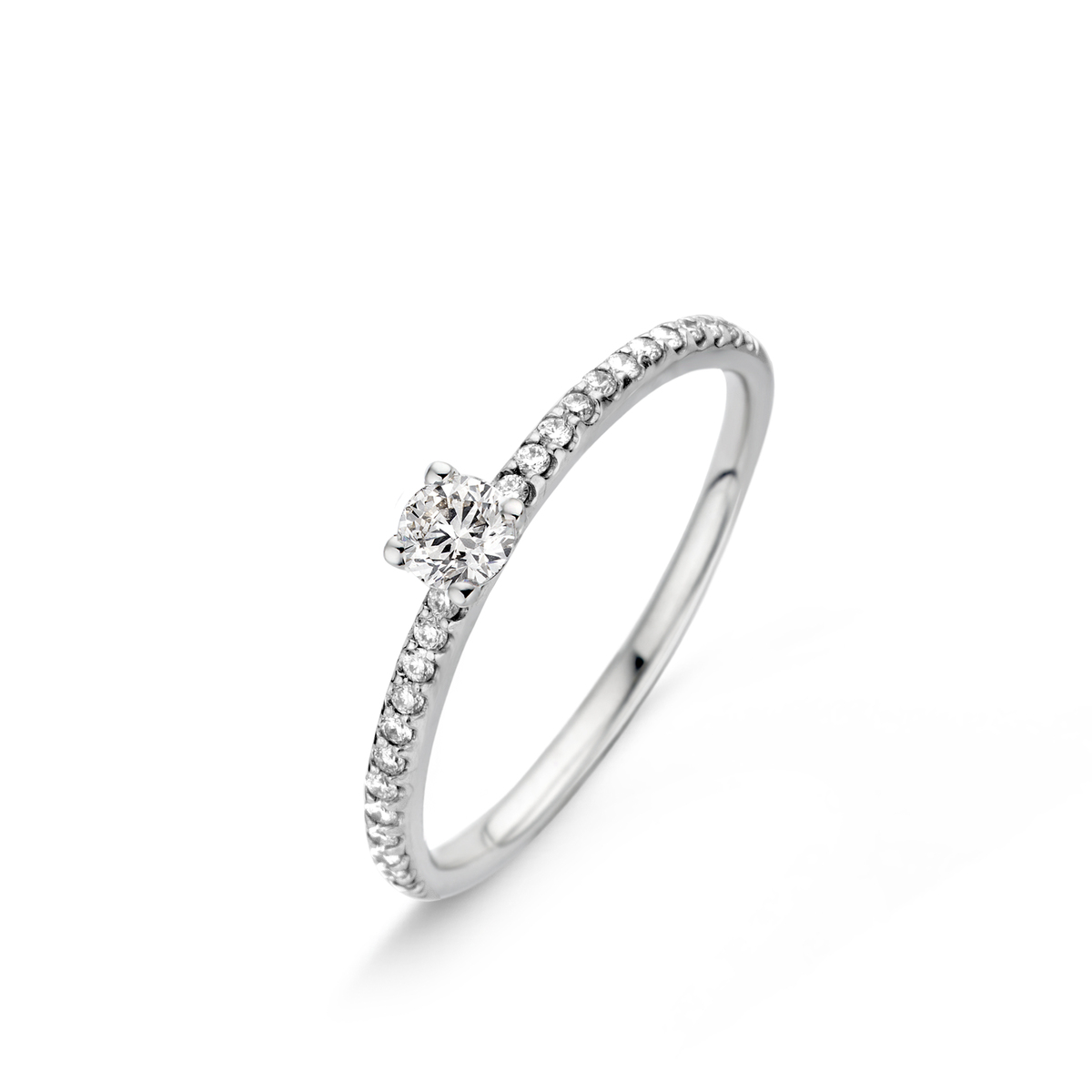 salina ring in white gold