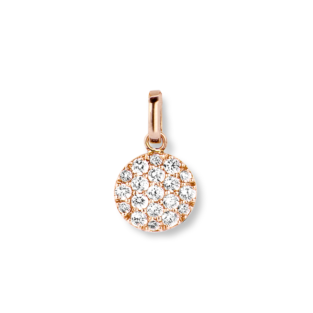 eolo pendant in rose gold