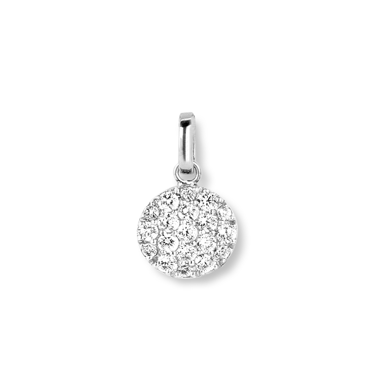 eolo pendant in white gold