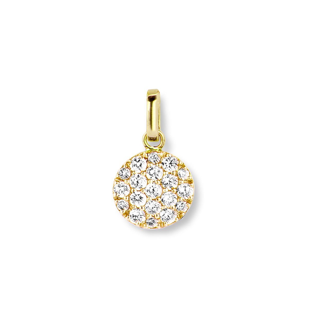 eolo pendant in yellow gold