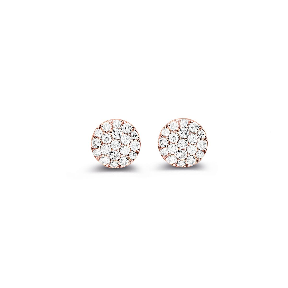 eolo earrings in rose gold