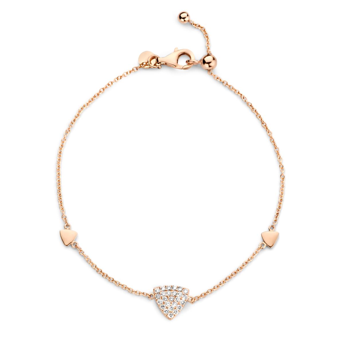 eolo bracelet in rose gold