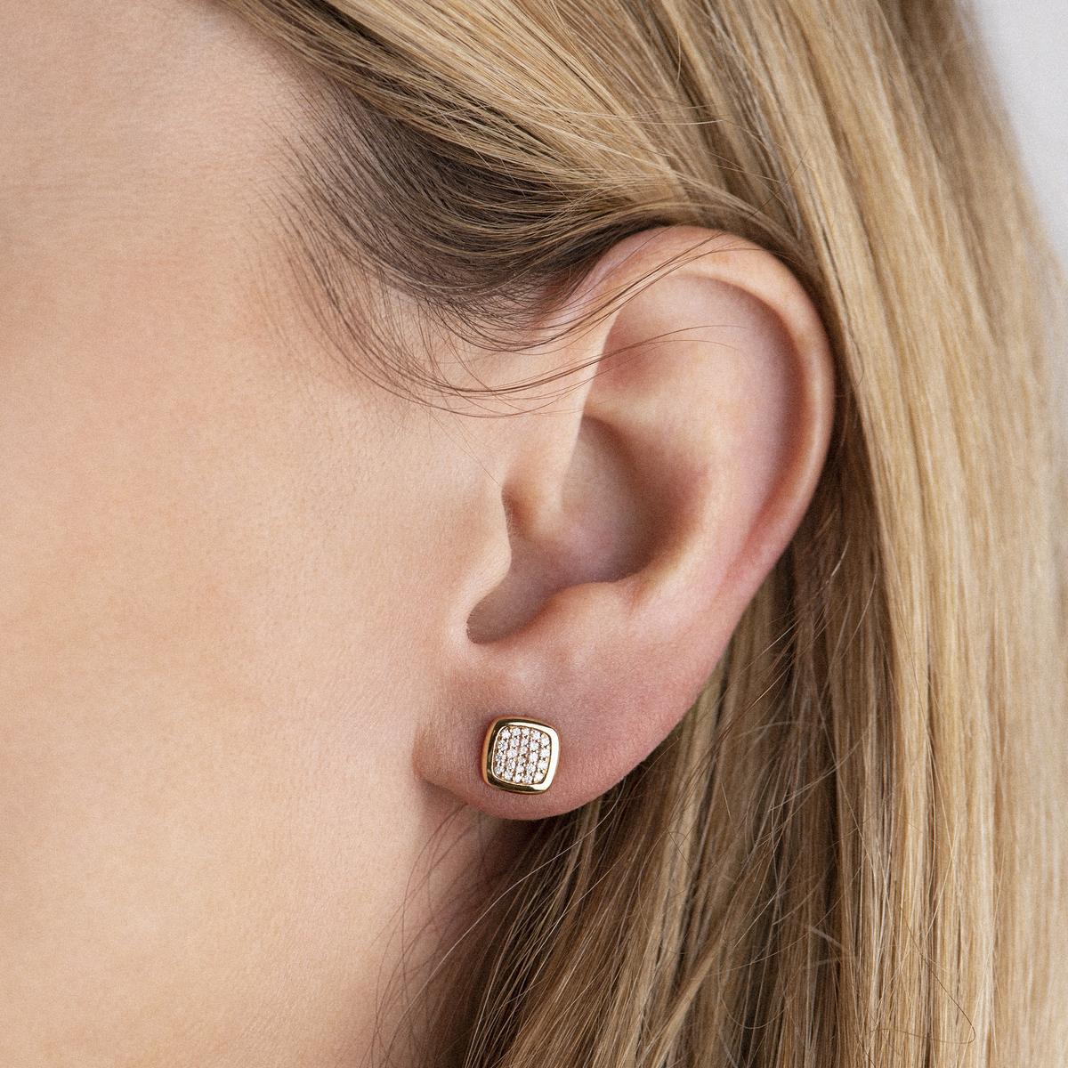 pantelleria earrings in rose gold