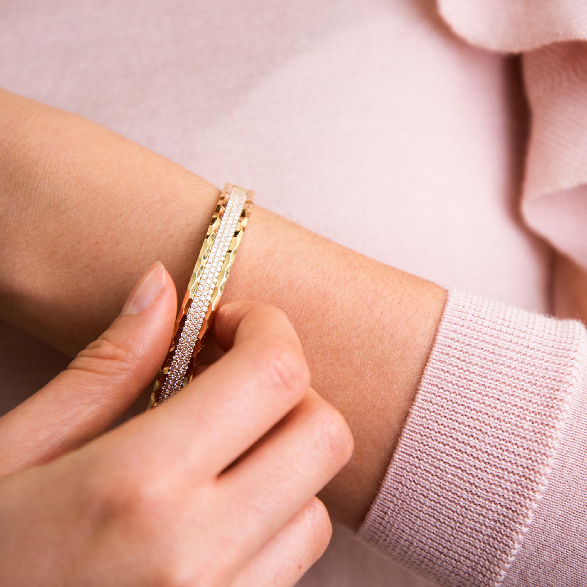 ischia bracelet in yellow gold