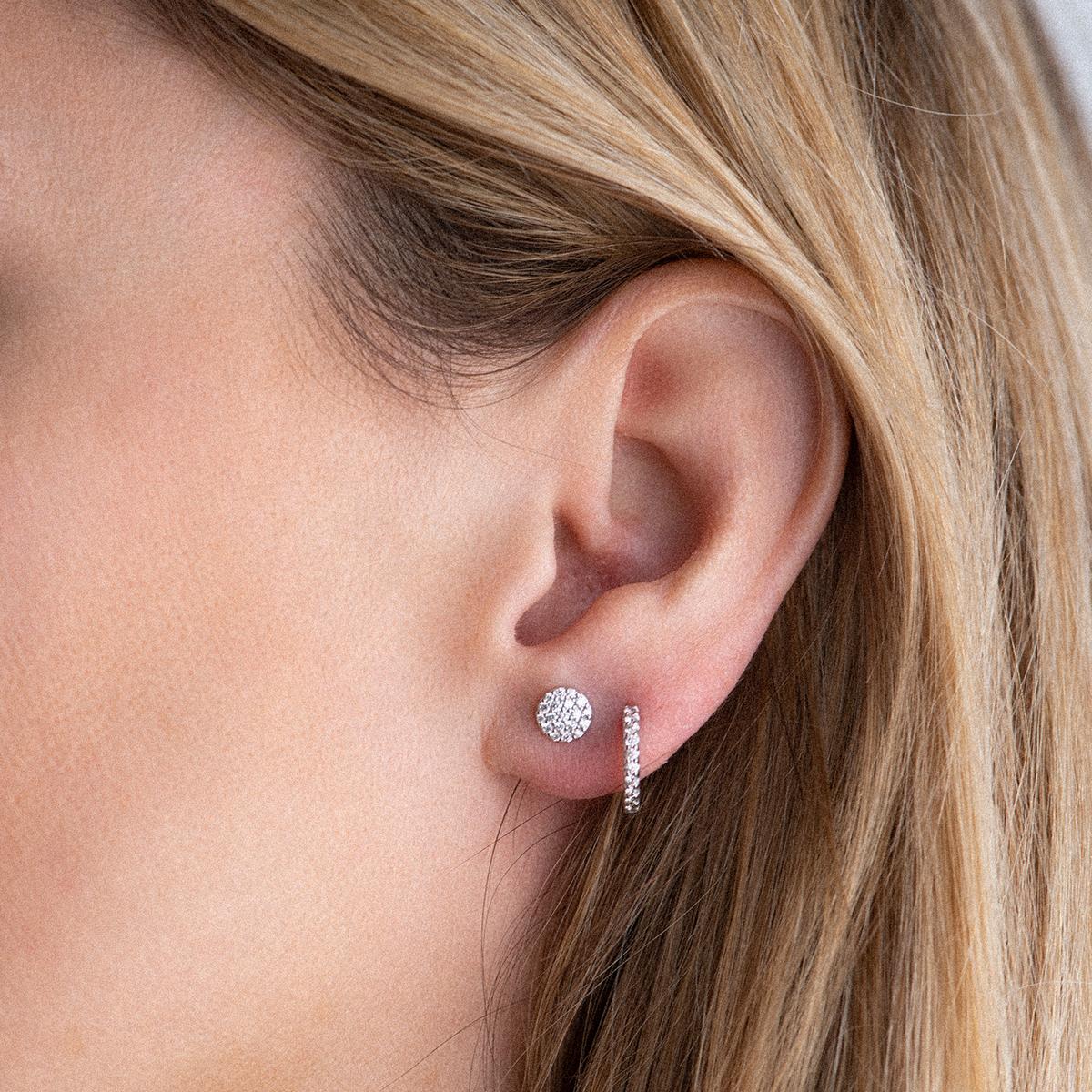 ischia basics earrings in rose gold