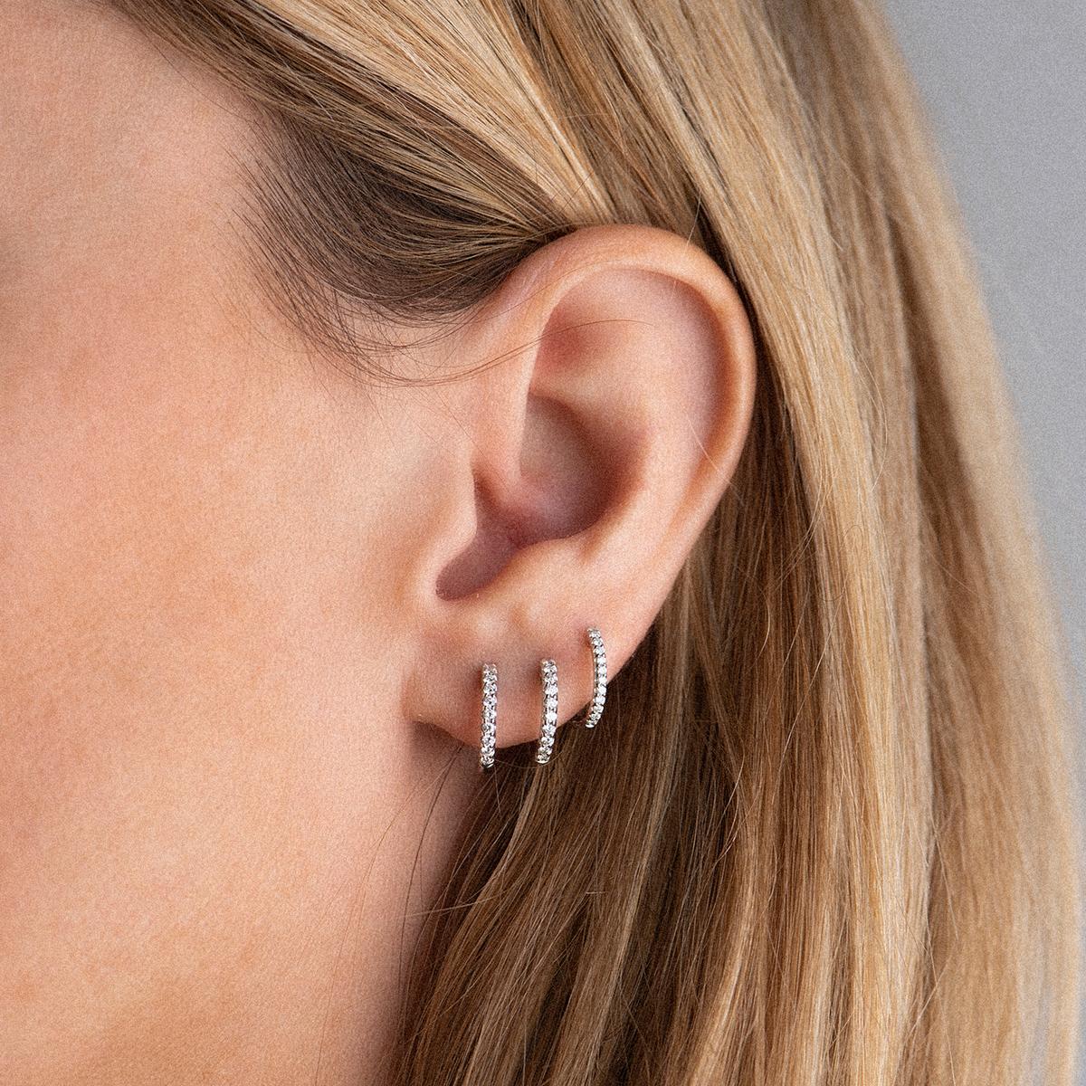 ischia basics earrings in yellow gold